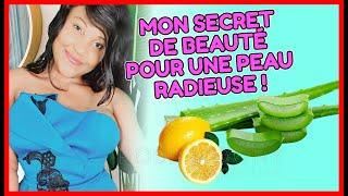 aloe vera et citron: voici comment avoir une peau étincelante