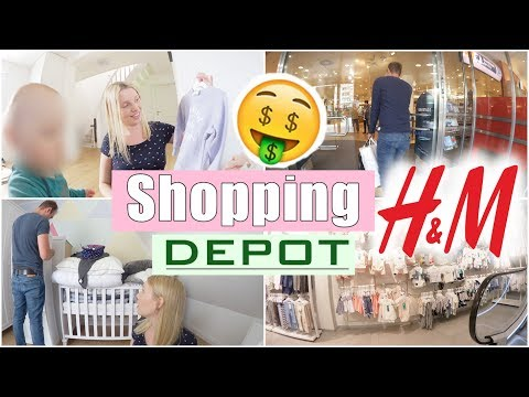 Shoppen mit Alex 😍   H&M und Depot Haul   Dreckiges Trinkwasser?! 😳   28 SSW   Isabeau