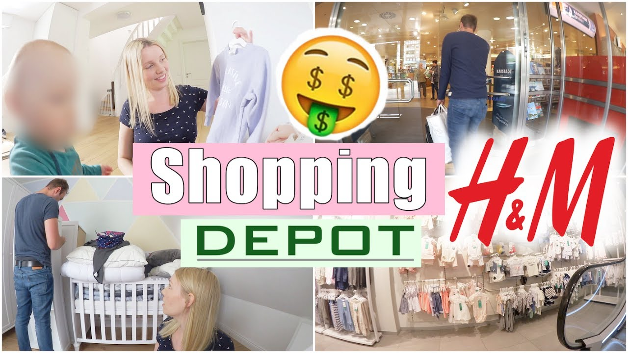 shoppen mit alex h m und depot haul dreckiges trinkwasser 28 ssw isabeau youtube. Black Bedroom Furniture Sets. Home Design Ideas