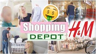 Shoppen mit Alex 😍 | H&M und Depot Haul | Dreckiges Trinkwasser?! 😳 | 28 SSW | Isabeau