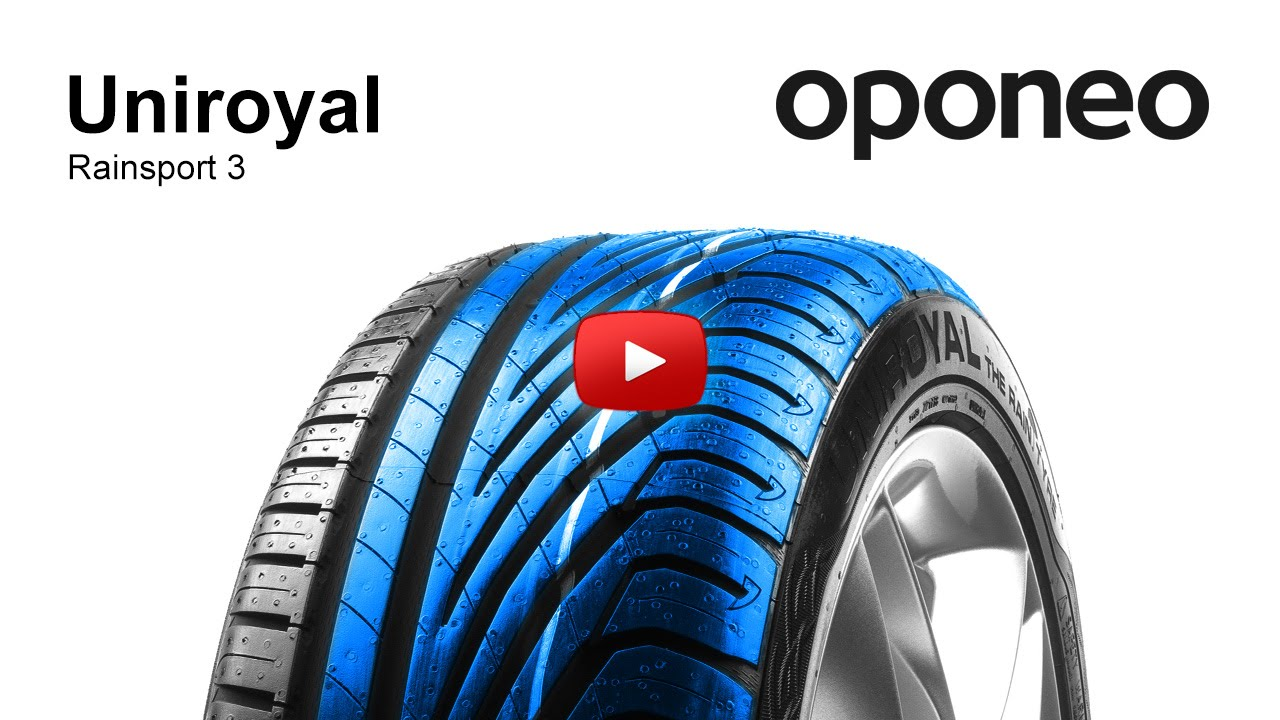 Tyre Uniroyal Rainsport 3 Summer Tyres Oponeo Youtube