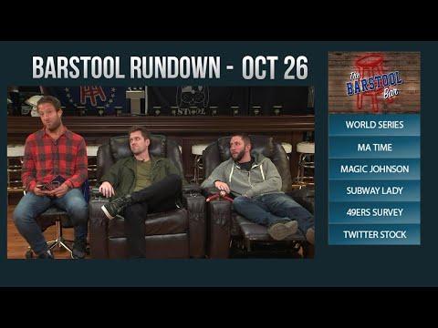 Barstool Rundown - October 26, 2017