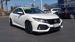 2017 Honda CIVIC Hatchback EX Mel Rapton Honda Quality Pre-Owned Vehicle, serving Sacramento  Citrus