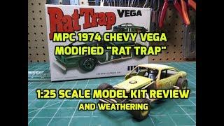 MPC 905M 1//25 Chevy Vega Modified Rat Trap 2T