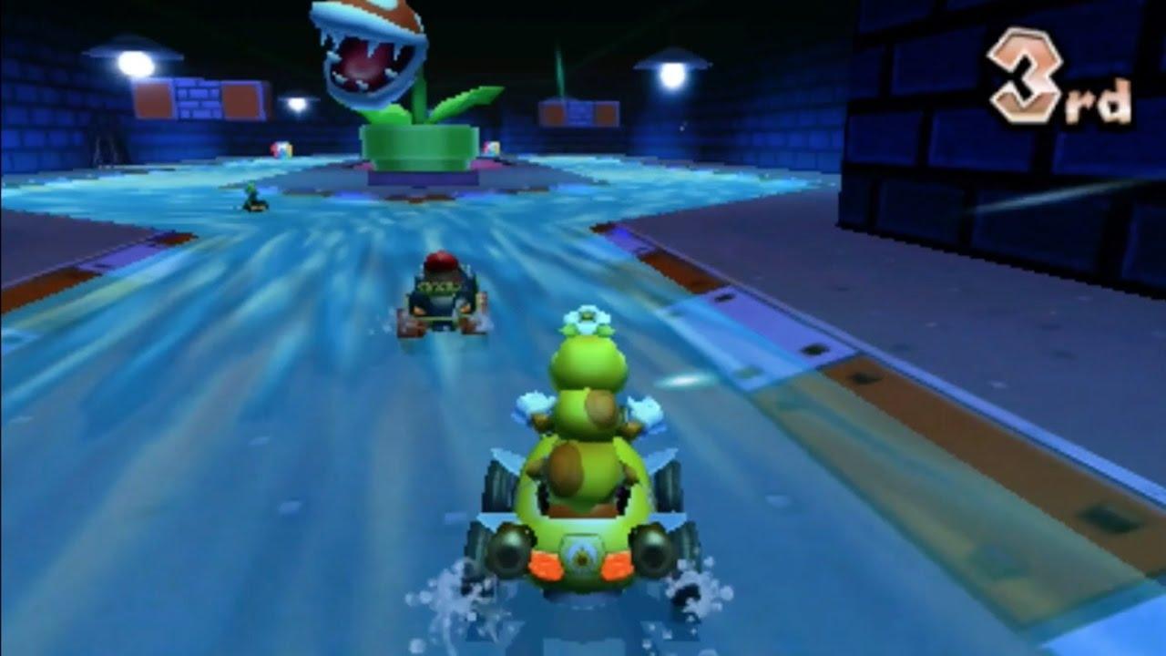 Mario Kart 7 Piranha Plant Slide 1080 Hd Youtube