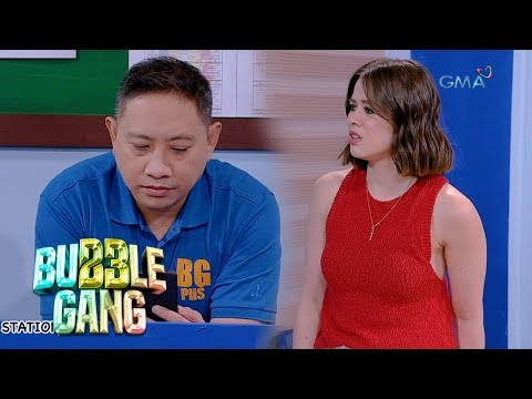 Bubble Gang: Plis, help me, please!