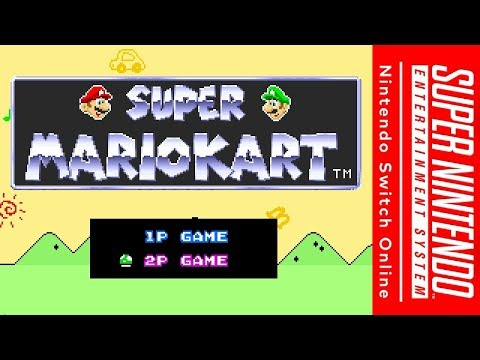 SNES Switch Online - Super Mario Kart: Online Races/Battles (feat. RetroPlayer)