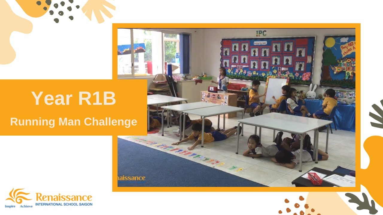 Running Man Challenge - Year 1RB | Renaissance International School