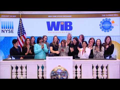 Women In Bio rings the NYSE Closing Bell, January 24, 2017