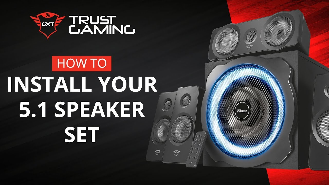 Trust com - GXT 658 Tytan 5 1 Surround Speaker System