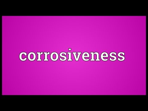 Header of corrosiveness