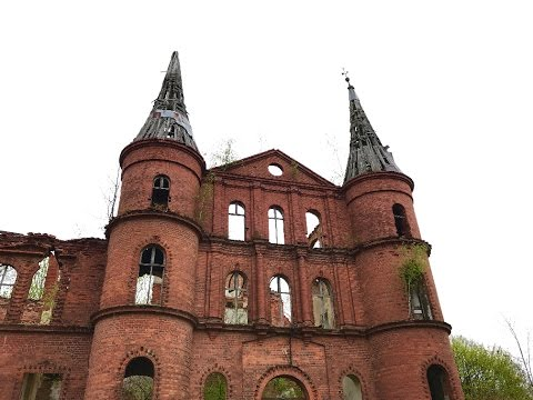 Ruins of a Gothic Mansion in Poland