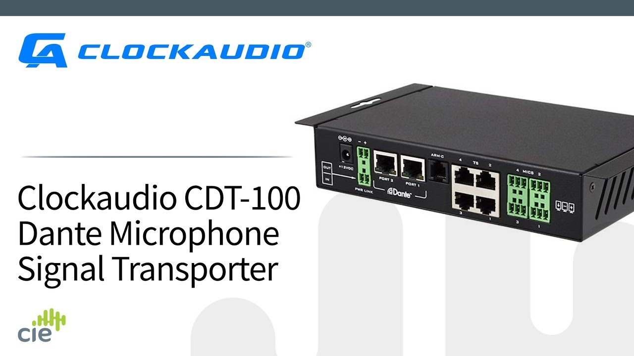 CIE AV Solutions Clockaudio 4 Way Audio and Control via