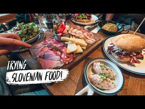 Americans Try SLOVENIAN FOOD! 🇸🇮 & Weirdest Airbnb Experience EVER! (Maribor, Slovenia)