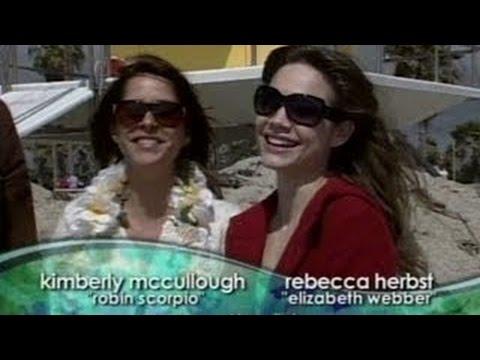 Fun in the Sun: Rebecca Herbst, Kimberly McCullough & Jason Thompson