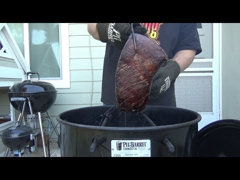 Smoked Corned Beef On The Pit Barrel Cooker
