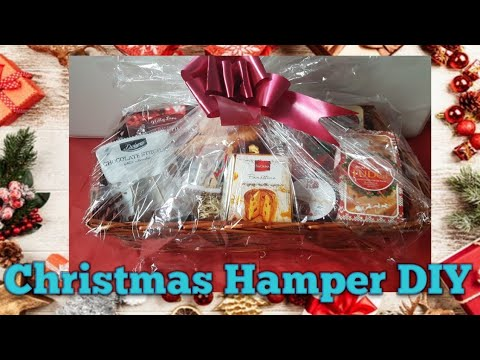 Christmas Hamper diy