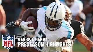 Derrick Henry Full 2016 Preseason Highlights | NFL