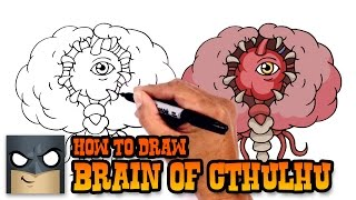 How to Draw Brain of Cthulhu | Terraria