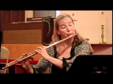 Douglas Townsend's 8 x 8:  DANCE IMPROVISATION AND FUGUE (1956) (flute version) (world premiere)