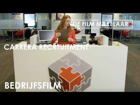 Carrera recruitment | De Film Makelaar - Promofilm