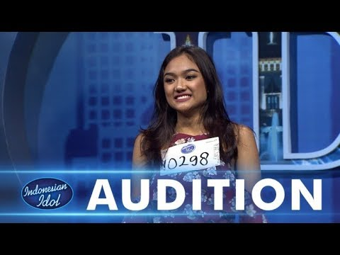 Bruno Mars - That's What I Like | Cover Marion Jola - AUDITION 1 - Indonesian Idol 2018 (Lirik)
