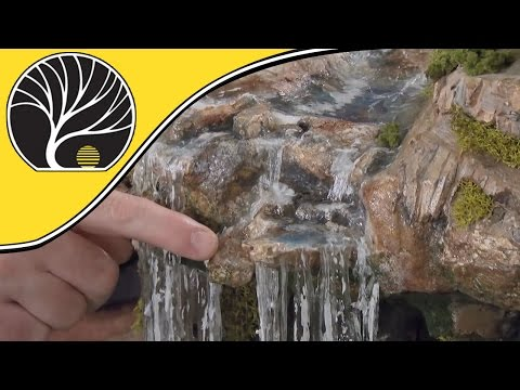 Model Waterfalls and Rapids – Model Scenery | Woodland Scenics