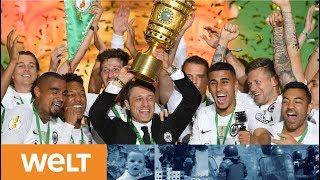 Riesen Enttäuschung für Heynckes: Eintracht Frankfurt siegt im DFB-Pokalfinale - Bayern blamiert
