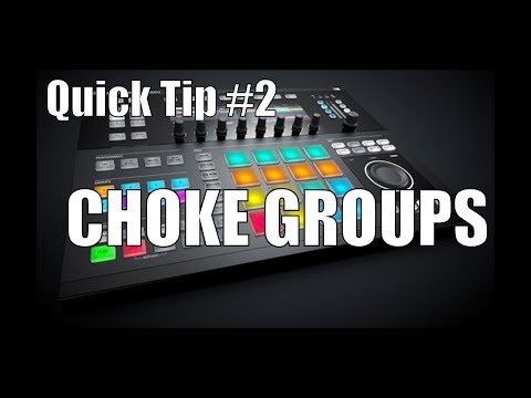 Maschine 2.0 Studio Quick Tip: Cut samples off using Choke Groups