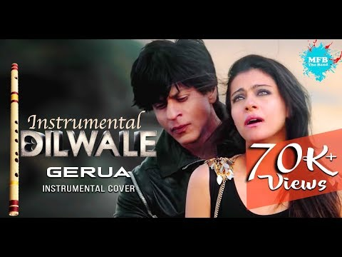 Gerua, Dilwale Instrumental  - Flute Version - #cover song by MFB band