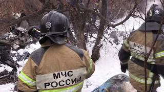 Крушение вертолёта в Хабаровске