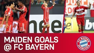 First FC Bayern Goals | James, Klose, Thiago & Co.