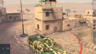 World of Tanks Blitz - Fresh game in the new MAD GAME mode. 263 Tokyo Drifto
