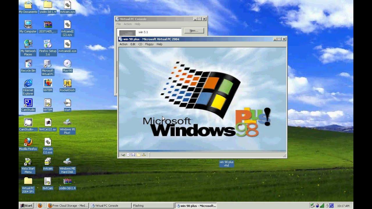 windows 98 vhd download