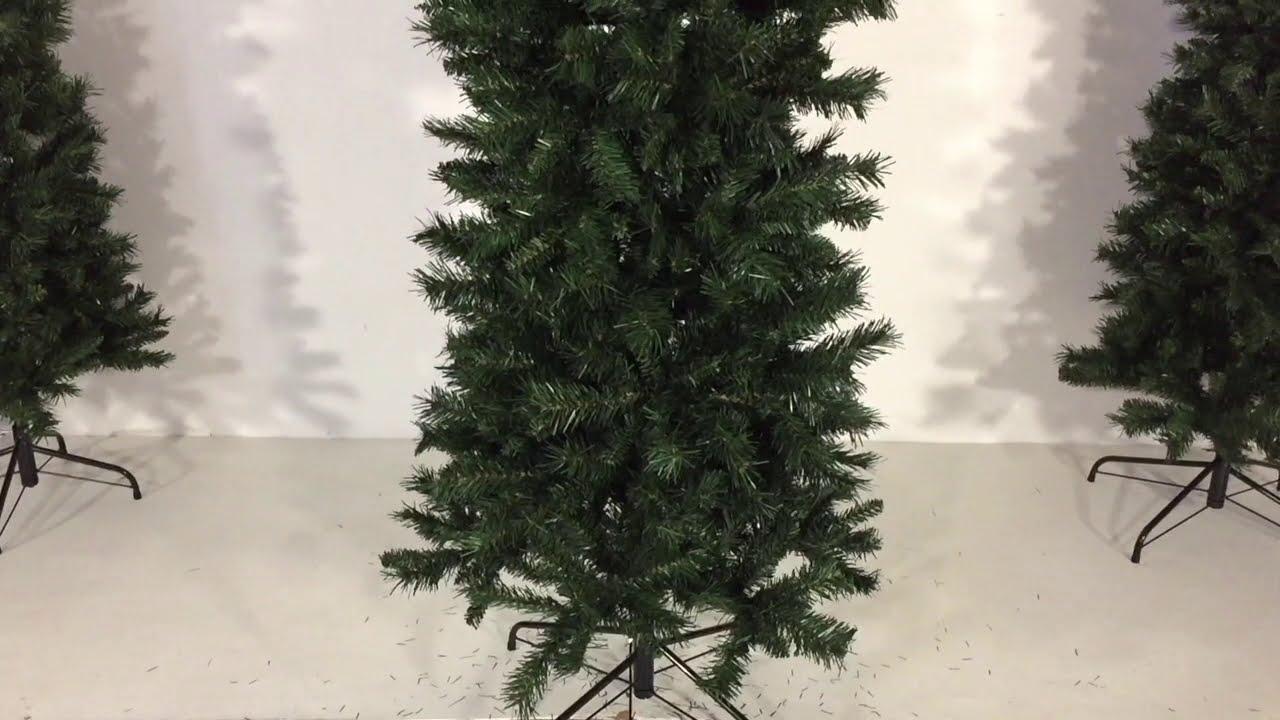 Albero Di Natale Slim 210.Montaggio Albero Di Natale Slim 210 Cm Youtube