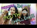 WHAT'S IN MY MOUTH CHALLENGE WITH A DARE