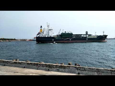 LPG Tanker ITHACKI Register Liberia Depart from Kaohsiung to Singapore Port