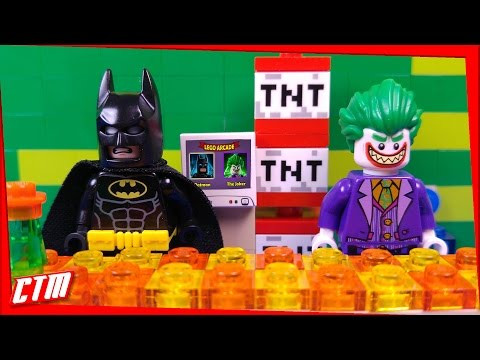 LEGO Batman Movie Arcade GAME | Joker catch Robin FIGHT for FREEDOM GAMING