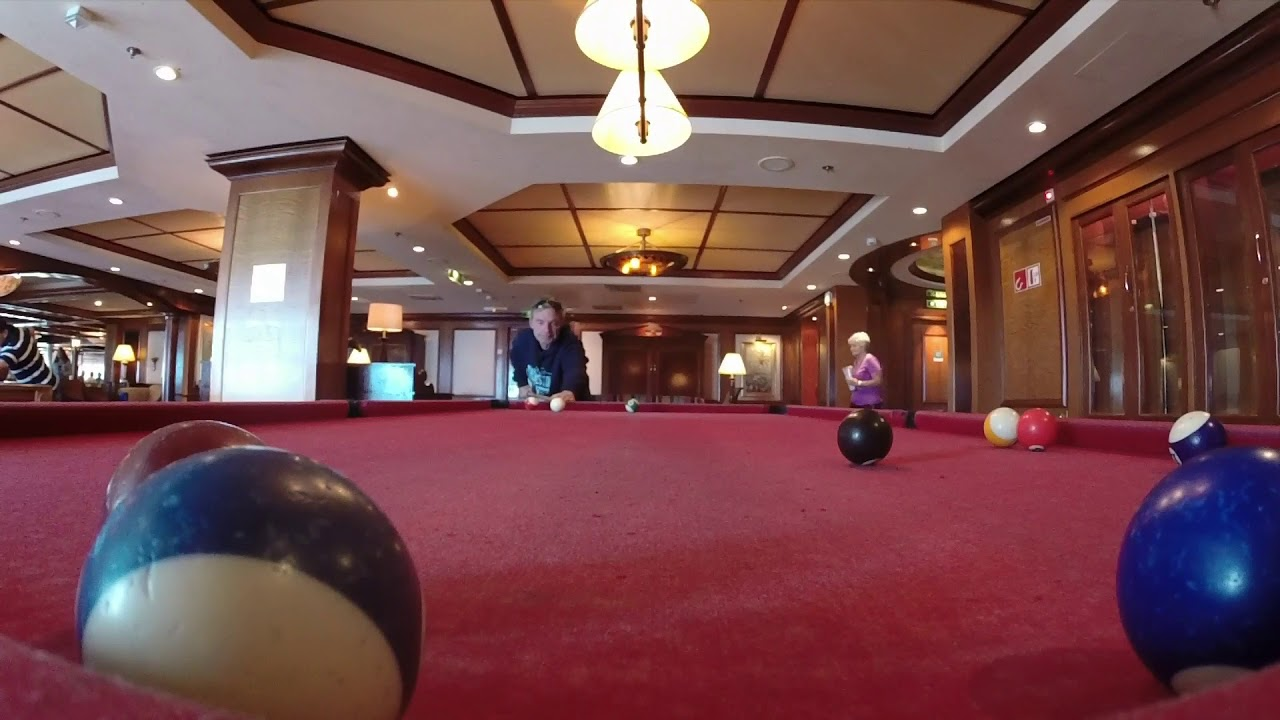 Gyroscopic Self Leveling Pool Tables On Royal Caribbean Radiance Of - Cruise ship pool table