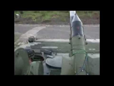 Schützenpanzer BMP-1 anlassen, starten und fahren