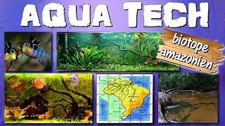 Présentation du BIOTOPE AMAZONIEN [AQUA TECH]