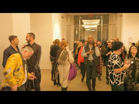 Visual Aids party at 524 Gallery in Chelsea