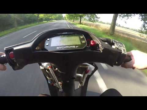 Test 4 Roost Havoc 100cc Zip Sp 138km/h @ 13.3K (0-100)in 5.3 sec