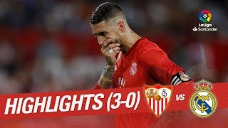 Resumen de Sevilla FC vs Real Madrid (3-0)