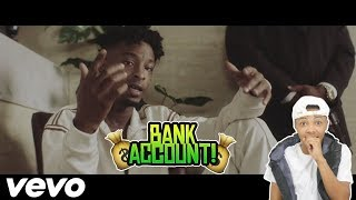 21 Savage   Bank Account (Official Music Video) Reaction