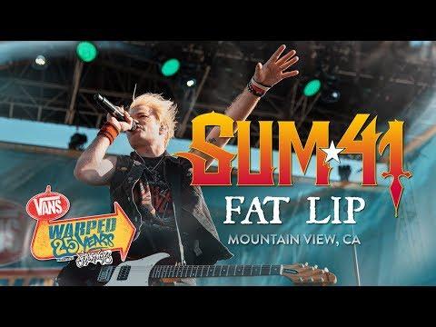 "Sum 41 - ""Fat Lip"" LIVE! Vans Warped Tour 25th Anniversary Show"
