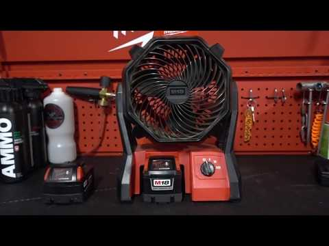 Milwaukee M18 Jobsite Fan Review