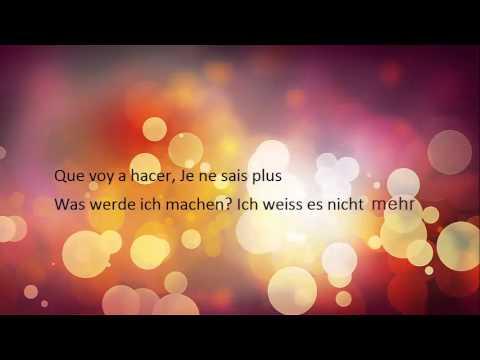 me gustas Tu-auf deutsch--spanisch lernen mit lieder-Lieder auf spanisch mit untertiteln