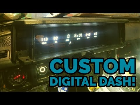Fiero Oil Pressure Sensor Swap! Conquest Intellitronix Dash Installed