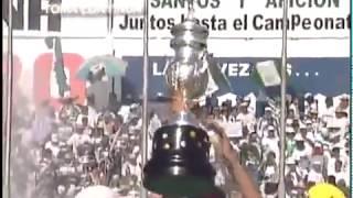 embeded bvideo Festejo Santos Campeón Verano 2001 - Cancha y Vestidores